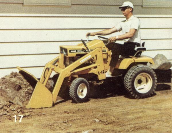 Garden Tractor Front End Loader