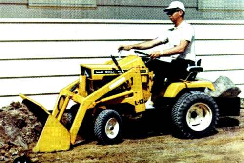 Garden tractors with loaders garden ftempo for Small garden tractors with front end loaders