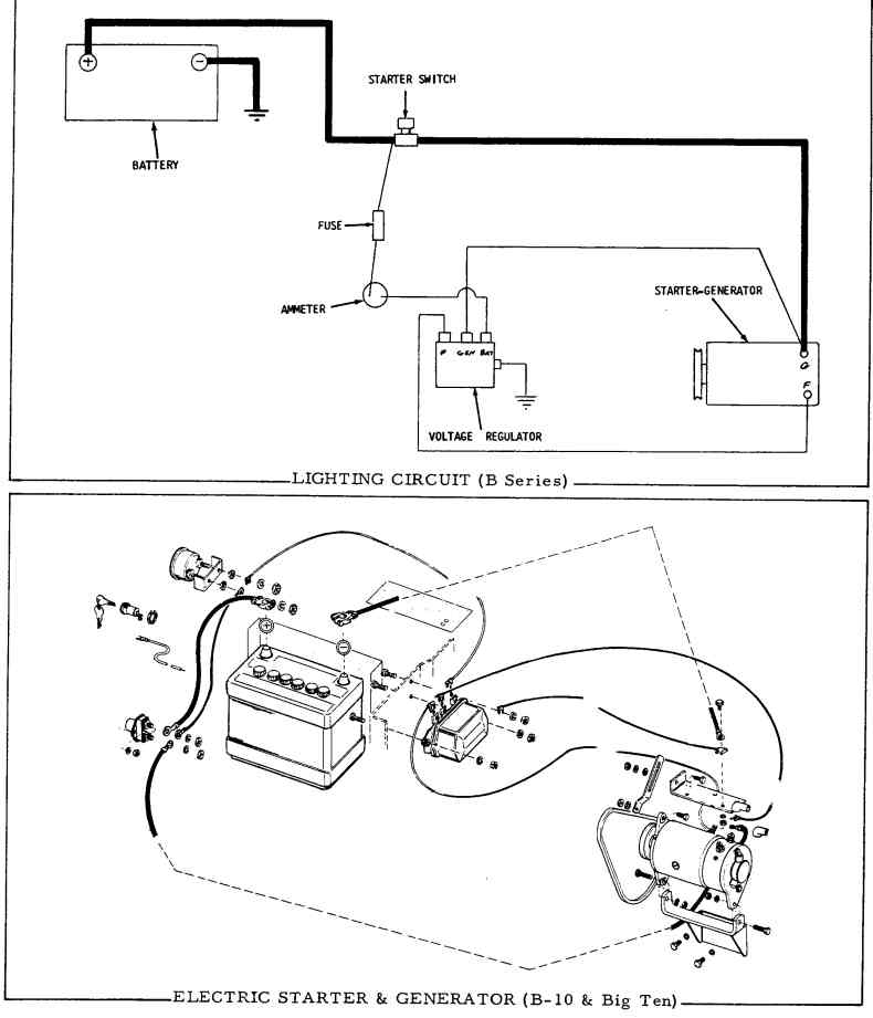 lighting wiring diagram for starter generator readingrat net hitachi starter generator wiring diagram at mifinder.co