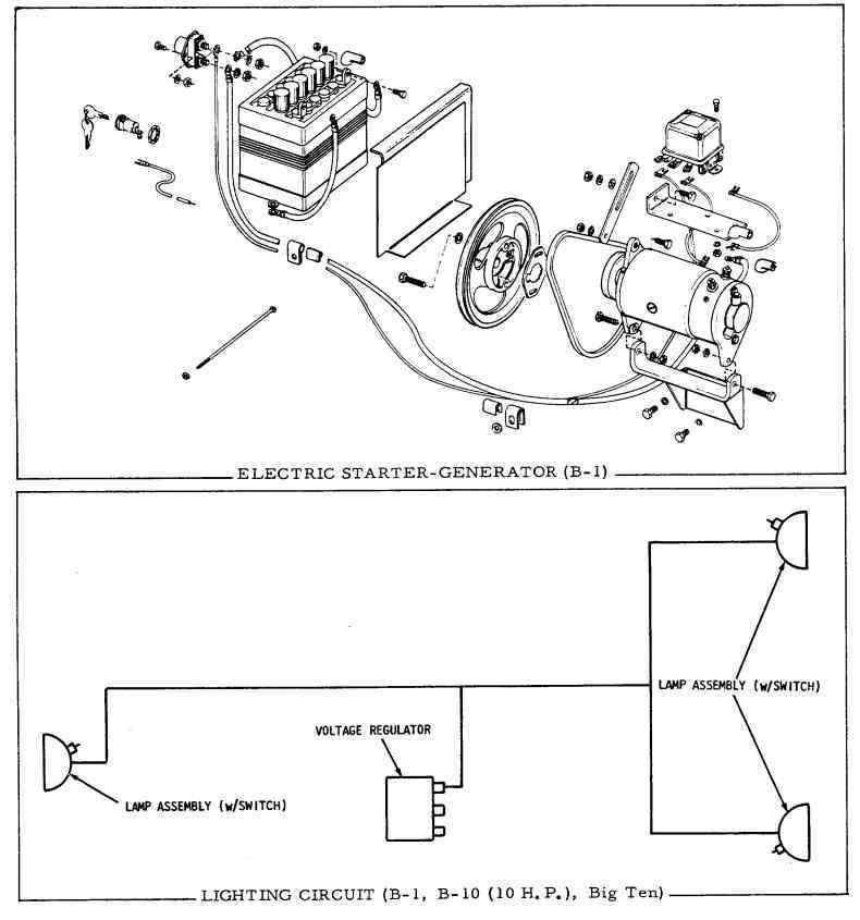 725 voltage regulator wiring diagram - talking tractors - simple tractors