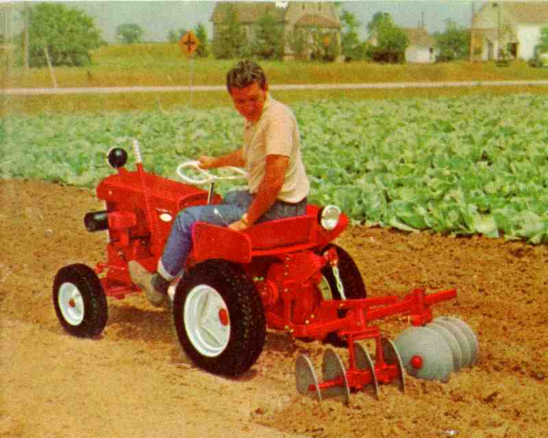 Garden Tractor Disc Attachments : Allis chalmers garden tractor implements ftempo